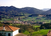 The village of Sopuerta, in the region of Encartaciones, Biscay